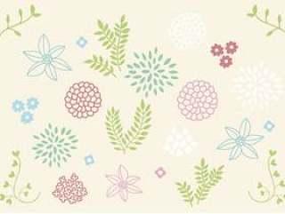 斯堪的纳维亚花卉图案