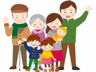 家族3世帯15_笑颜(冬全身)