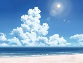 海洋和云层2
