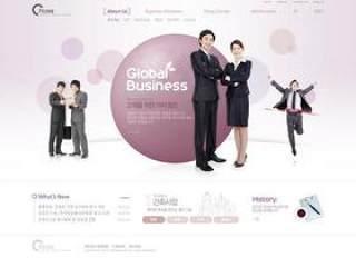 企业网站模板PSD分层(755)
