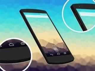 nexus_5 手机3D模型