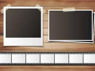 图片和负面的框架材料