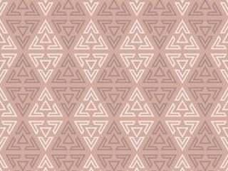 从无缝的三角样式的抽象背景。