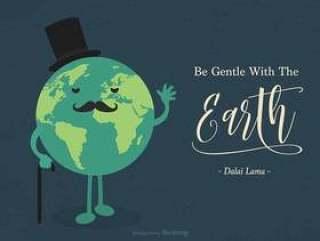 温柔地与地球励志报价
