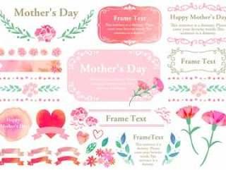 季节性活动材料001母亲节设置