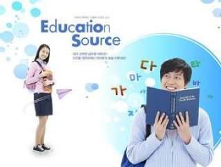学校教育人物PSD分层素材