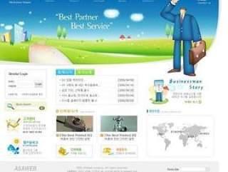 企业网站模板PSD分层(310)