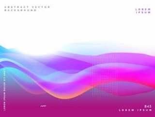 抽象的紫色海报设计背景