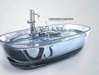 水之创意系列PSD分层素材-9