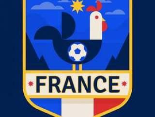 法国足球徽章