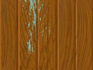 布朗粗糙的木纹