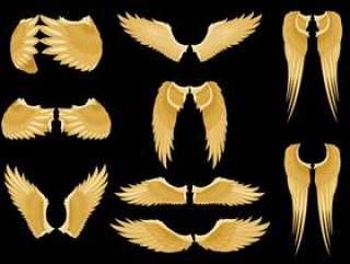 天使的翅膀矢量