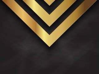 抽象的金设计黑板上的纹理