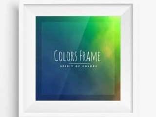 与现实框架的颜色框架
