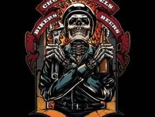 摩托车俱乐部徽标