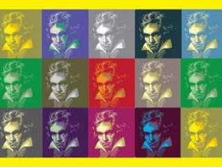 贝多芬流行艺术背景