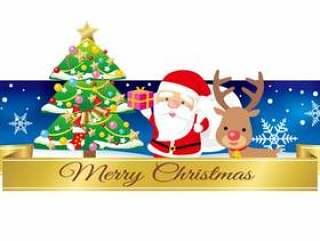平安夜的圣诞老人标题