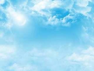 的插图 材料青空晴朗的壁纸背景图片
