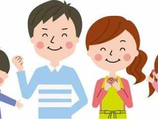 父母和孩子的微笑1