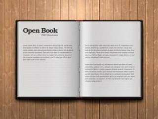 openbook—psd分层素材