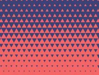 抽象三角形图案背景