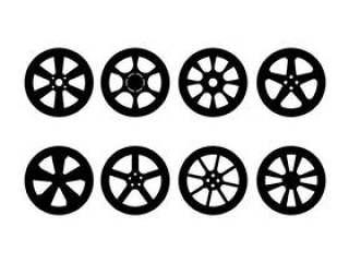 汽车轮毂罩传染媒介集合