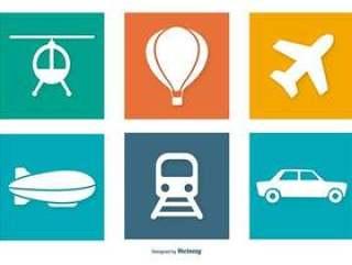 交通图标集合