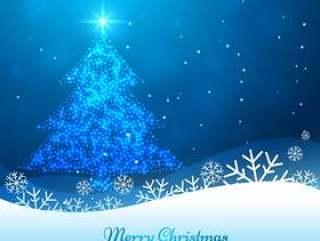闪亮的圣诞树