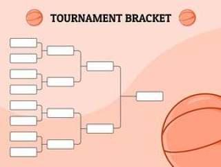 篮球锦标赛托架图