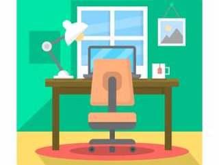 平的家庭办公室