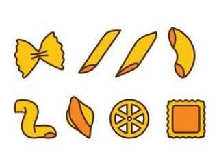 面食各种图标