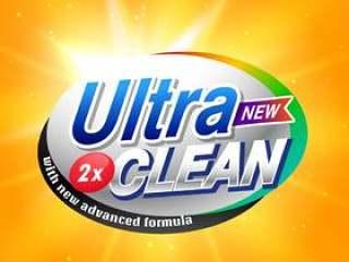 洗涤剂广告的产品包装的概念设计在你