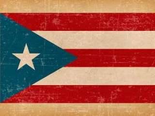 波多黎各的垃圾标志