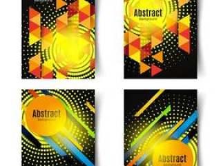 抽象几何元素背景