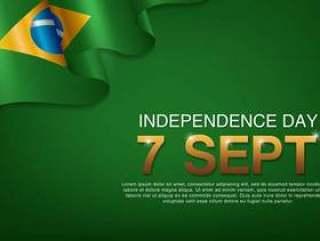 巴西独立日海报