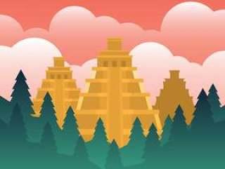 El多拉多失去的金子例证城市
