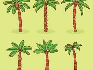 棕榈树集合矢量