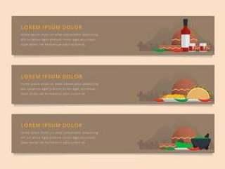 Molcajete墨西哥传统食物和研磨工具。网横幅模板。