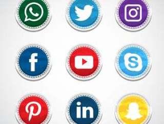 循环社交媒体收藏