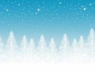 无缝的雪景