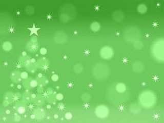 圣诞树背景001绿色