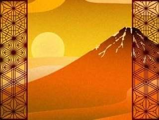 向日葵和波诺金叶风红富士