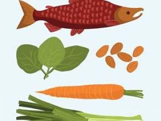 超级食物的插图