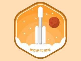 火星修补程序矢量平坦的使命