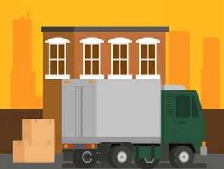 移动卡车载入矢量
