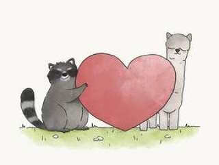 浣熊和喇嘛的爱情