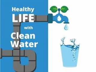用清水矢量健康生活