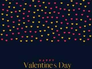 优质的爱情人节' s天背景与心模式