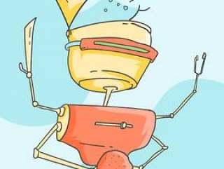 未来派Ai厨师载体