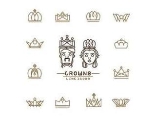 皇冠标志设计